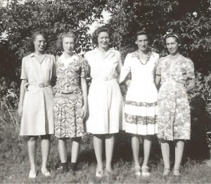 Mary Ann with her  Siblings