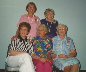 Back Margie on Left Youngest Sister, MaryAnn on rightFront - Clara, Oldest - Francis, 2nd Oldest - Marie 3rd Oldest