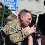 Welcome home Master Sergeant Karl Baumkirchner, U.S. Army