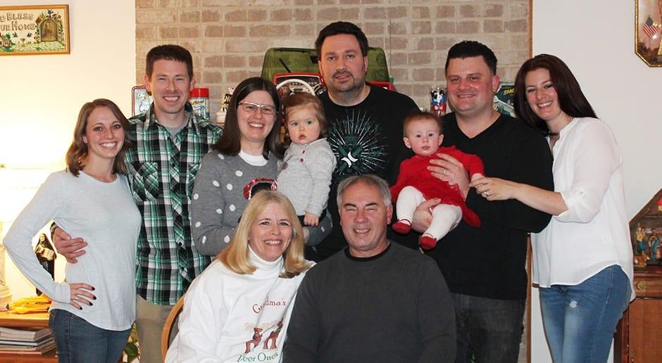 Barbara Piltaver family photo